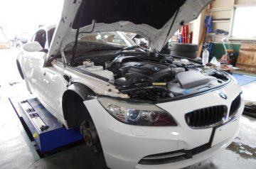 BMW Z4 E89 12カ月点検 ブレーキパット交換