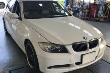 BMW E90 VA20 オイル漏れ修理