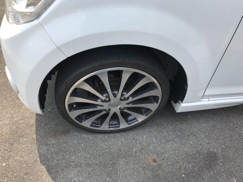 ダイハツ ムーヴX VS SDナビ |尾張旭市にある中部運輸局指定民間車検工場