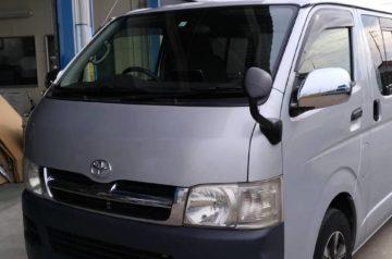 ハイエース KDH200  インジェクター洗浄 タイミングベルト 車検