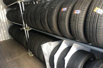 スタッドレスタイヤ保管