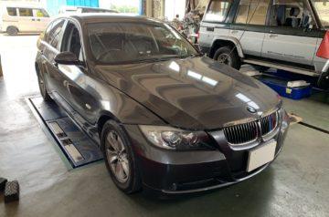 BMW 3シリーズ E90 オイル漏れ修理