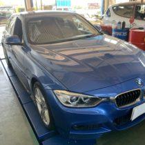 BMW 3シリーズ F30 ランフラットタイヤ交換