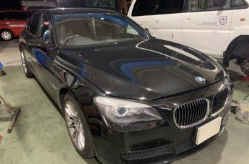 BMW F01 7シリーズ ワコーズRECS施工